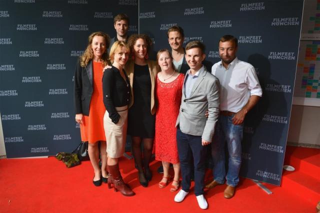 Be my Baby Carina Kühne, Regisseurin und Schauspielerkollegen in München 2015