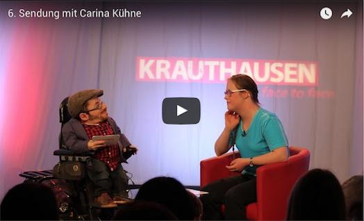 Carina Kühne zu Gast bei Raul Krautjausen in face to face